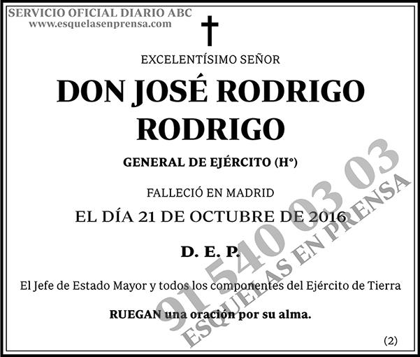 José Rodrigo Rodrigo